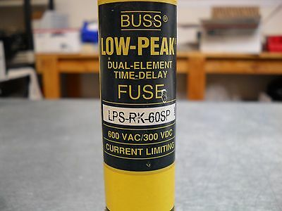 Bussmann Low-Peak Fuse, LPS-RK-60SP  -  free ship