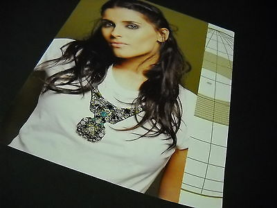 NELLY FURTADO 2009 Dynamic Photo Image PROMO DISPLAY AD no print