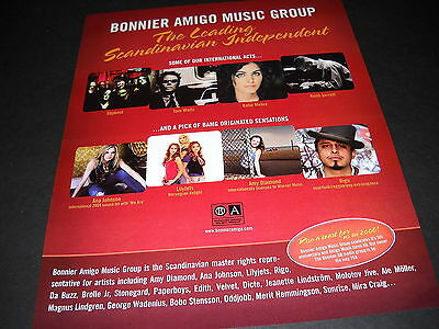 TOM WAITS Lilyjets KATIE MELUA Ana Johnson RIGO others 2006 PROMO DISPLAY AD