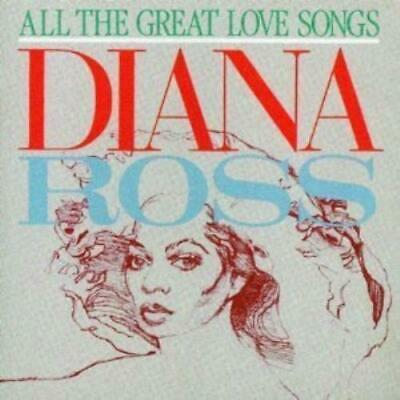 Various Artists : Diana Ross All the great love songs CD FREE Shipping, Save £s
