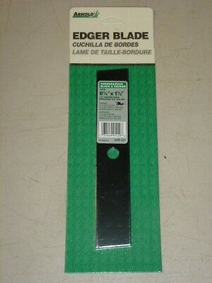 "NOS! Arnold 8-3/8"" x 1-1/2"" EDGER BLADE AEB-521, 1/2"" CENTER HOLE"