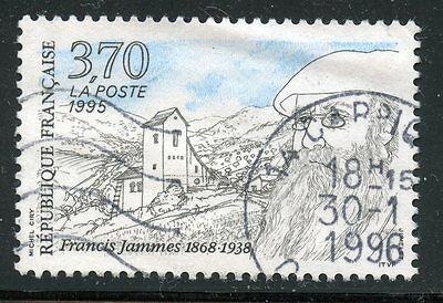 Stamp / Timbre France Oblitere N° 2983 Francis Jammes