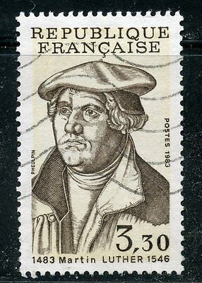 Stamp / Timbre France Oblitere N° 2256 Martin Luther