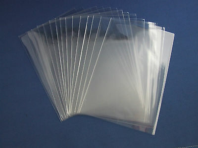 "CLEAR UNLIPPED CELLO CELLOPHANE BAGS LOLLIPOPS, CAKE POPS, PARTY SWEETS 6"" x 4"""