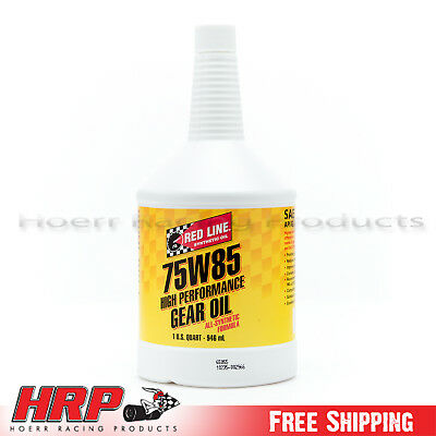 Red Line 75W85 GL-5 Gear Oil - 1 Quart - PN: 50104