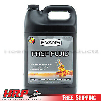 Evans Waterless Coolant -PREP Flush (1 Gallon & Funnel) -EC42001