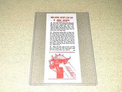 Vietnam War Original Authentic Propaganda Flyer Unissued Free Same Day Shipping