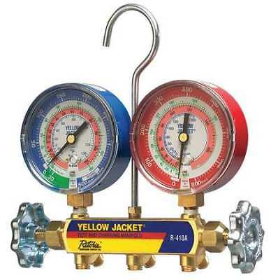 Mechanical Manifold Gauge Set,2-Valve YELLOW JACKET 42021