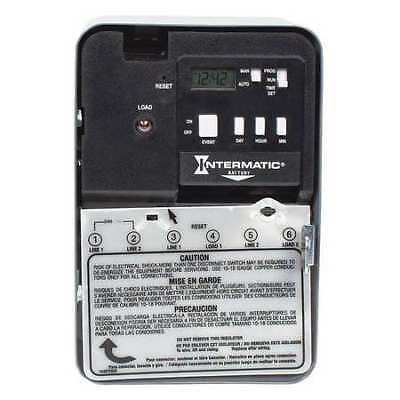 INTERMATIC EH10 Electronic Timer, 24 hr/7 Days, SPST