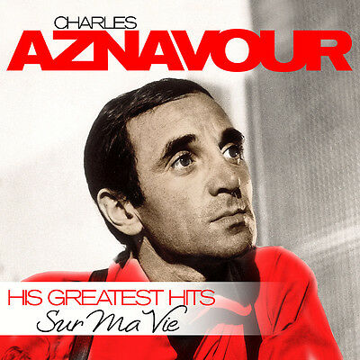 LP Vinyl Charles Aznavour Sur Ma Vie His Greatest Hits