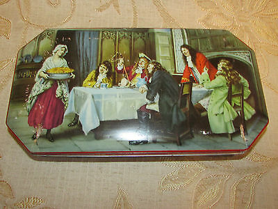 Large Vintage Collectable Riley's Toffee ''Good Cheer '' Tin