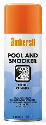 Ambersil 31632-AA Pool and Snooker Cloth Cleaner 400ml