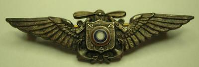 1920s 1930 NAA Sterling / Enameled Wing