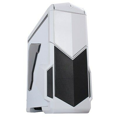 CiT Spectre White Full Tower Gaming Case - USB 3.0