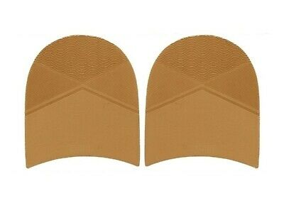 Mens Rubber Sand Tan colour Heels 8.5 mm thick for DIY Shoe Repair