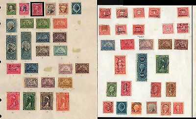 Back of Book Collection Parcel Post Postage Due Revenues Special Del & More Look