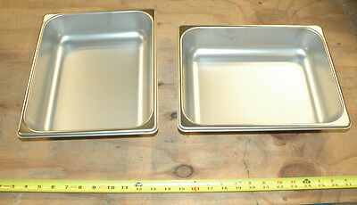 Polar Ware Steam Table Pan Lot Of 2 Part Number Mil-P-43940