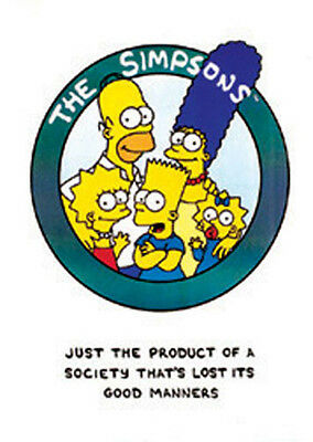 Simpsons - Nuclear Family Comic Plakat Poster Druck