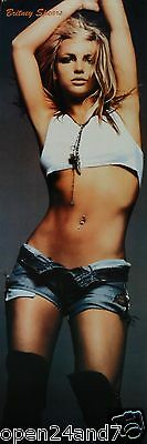 """Britney Spears """"arms Above Head, Wearing Shorts & Small Top"""" Poster From Asia"""