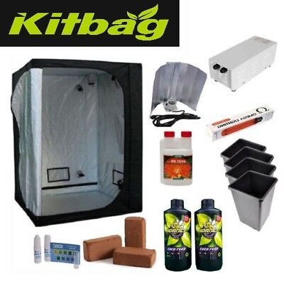 complete grow tent kit with 400w grow light and canna coco