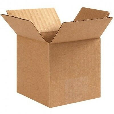 125 4x4x4 Cardboard Packing Mailing 100 % Shipping Boxes Corrugated Box Cartons