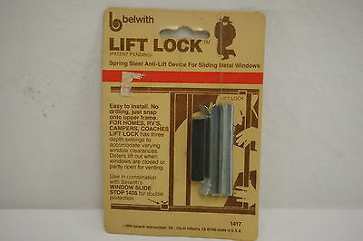 Belwith Lift Lock Anti Lift Device for Sliding Metal Window (Free shipping)
