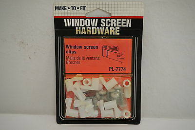 Prime Line PL-7774 Window Screen Hardware 3/8 Clips (Free shipping)