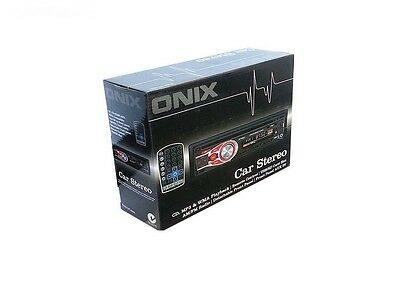 Brand New Onix Car Stereo Cd Player/ Usb/ Mp3/wma- Am/fm Radio & Remote Control
