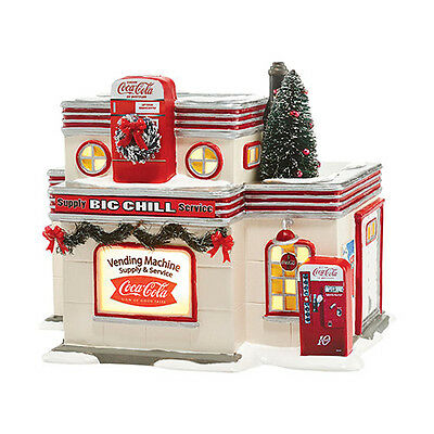 Department 56 Snow Village New 2015 COCA COLA BIG CHILL SUPPLY & SERVICE 4044861