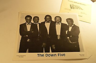 "the down five press photo 8"" x 11""  AUTOGRAPHED"
