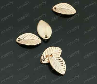 30pc KC gold charm Jewelry( leaves )Jewelry Accessories wholesale PJ1731