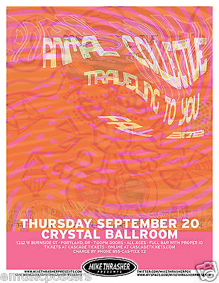 Animal Collective / Traveling To You 2012 Portland Concert Tour Poster
