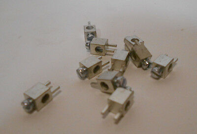 Lot of 100  METZ CONNECT  360410  TERMINAL BLOCK, WIRE TO BRD, 1POS, 18AWG
