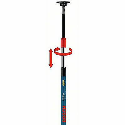 Bosch BT 350 Telescopic Pole for Cross Line Point Beam Lasers with GLL Holder