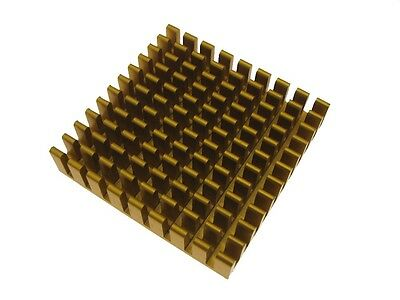 45*45*10mm Heat Sink Top Mount - Golden