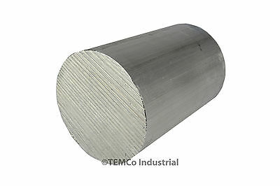"4"" Inch Diameter 6"" Long 6061 Aluminum Round Bar Lathe Rod Stock"