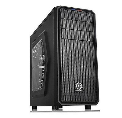 Thermaltake Versa H25 Black Midi Tower Gaming Case - USB 3.0