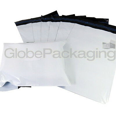 "20 x Strong WHITE 10x14"" Mailing Postal Poly Postage Bags 10""x14"" (250x350mm)"