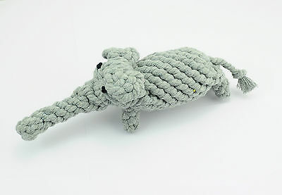 Pet Puppy Gray cotton ROPE Elephant toys grinding clean teeth dog Chew Toy  62