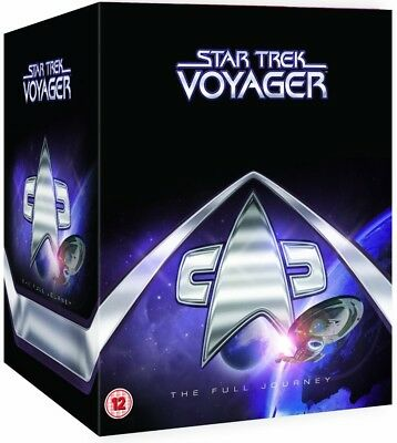 STAR TREK 1995-2001 - VOYAGER 1-7 COMPLETE TV Series Seasons - NEW R2 DVD not US
