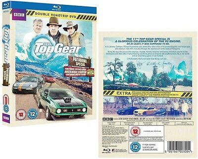 TOP GEAR UK 2014 2015 PATAGONIA Argentina / Chile + AUSTRALIA - Rg Free BLU-RAY