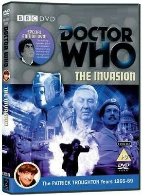 DR WHO 046 (1968) - THE INVASION - TV Doctor Patrick Troughton - NEW R2 DVD