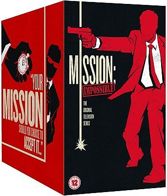 MISSION IMPOSSIBLE 1-7 (1966-1972): COMPLETE Spy TV Seasons Series R2 DVD not US
