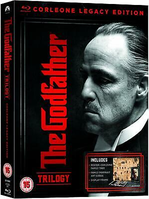 THE GODFATHER TRILOGY (1972, 1974, 1990) 2008 Coppola Restoration RgFree BLU-RAY