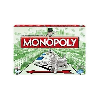 NEW HASBRO CLASSIC MONOPOLY BOARD GAME with CAT PIECE EDITION ages 8+ 00009