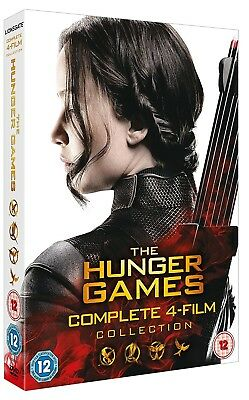 THE HUNGER GAMES 1-4 (2012-2015) COMPLETE+CATCHING FIRE+MOCKINGJAY R2 DVD not US