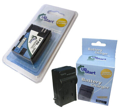 Battery +Charger for Canon EOS 5D Mark II, 5D Mark2, CBC-E6