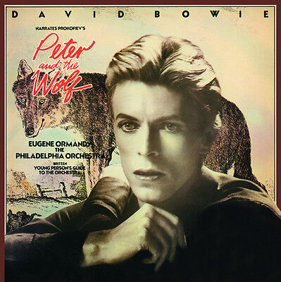 David Bowie Peter And The Wolf Lp Vinyl New 180Gm 33Rpm Ltd Ed