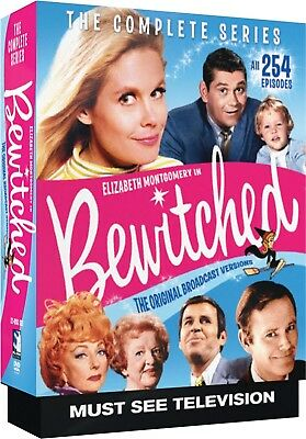 BEWITCHED 1-8 (1964-1972): COMPLETE CLASSIC ORIGINAL TV Season Series NEW DVD R1