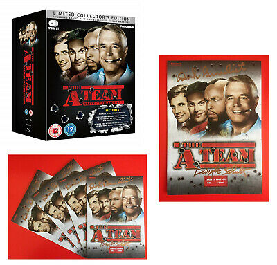 THE A-TEAM 1-5 1983-1987: COMPLETE RESTORED Action TV Seasons Series RgB BLU-RAY
